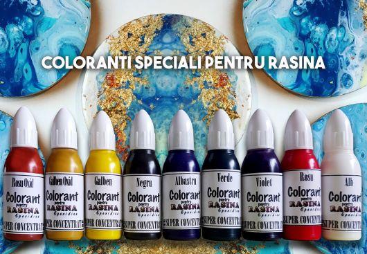 Colorarea Rasinilor Epoxidice